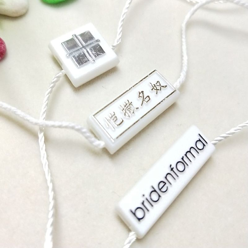 Retail hang tags for merchandise