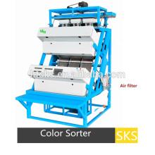 Máquina pequena do classificador da cor do chá do CCD para o processamento de produtos da agricultura