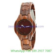 2016 relógio de madeira de alta qualidade para mulher (JA-15011)