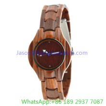 Montre en bois de haute qualité pour femme 2016 (JA-15011)