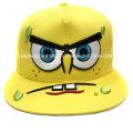 Chapéu liso do Snapback da borda, chapéu de Hip Hop