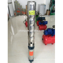 6inch 6SR three phase deep oil motor well submersible water pump