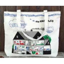 10 унций хлопка холст сумка подарок мешок ЭКО мешок