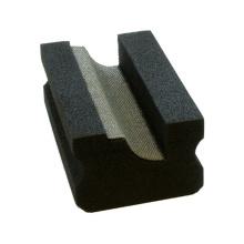 Almofada de polimento de pedra galvanizada niquelar da mão do diamante de Glsss da mão
