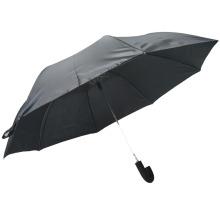 2fach Ganzkörper Gentleman Automatik Regenschirm