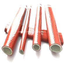 Manta de fibra de vidro revestida com silicone para proteção contra incêndio