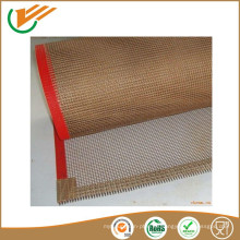 El calor resiste la correa del acoplamiento de la tela de la correa del transportador de la cinta transportadora del acoplamiento del teflón