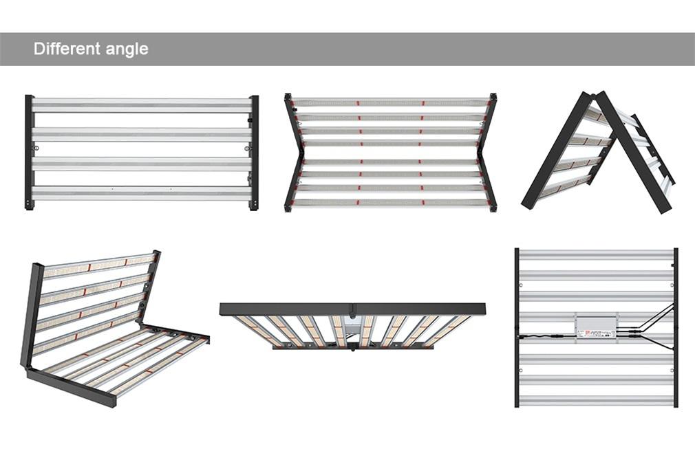 600W Foldable Waterproof Grow Light Bars
