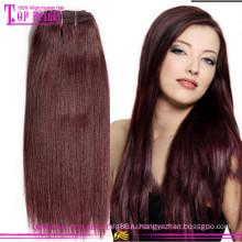 Класс 6а дешевые 99j мелирование волос Европейский Реми волосы ткачество 99j