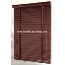 real basswood venetian blind curtain