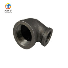 ferro fundido 90 graus de ferro preto cotovelos