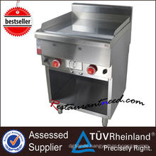 K256 CE certificate stainless steel gas griddle for restaurant sales promotion