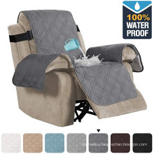 Living Room 100% Waterproof Quilted Recliner Chair Cover