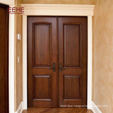 concise carved solid wood door quality first pine wood flush door