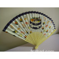 Nouvelle boutique fashional impression design fans en bois