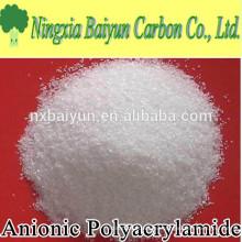 9003-05-8 Poliacrilamida en polvo, polímero floculante aniónico de poliacrilamida