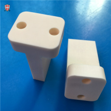 industrial alumina beige ceramic machinery parts factory