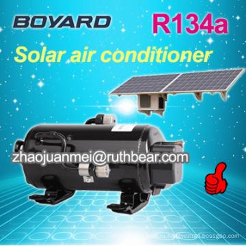Герметичный роторный bldc электрический автомобильный компрессор переменного тока для низковольтного солнечного кондиционера