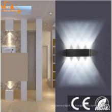 Fácil de instalar 180 * 60 * 30 mm Nueva lámpara de pared de dormitorio avanzado