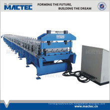 High Speed Steel PLC Control Deck Panel Roll Forming Machine