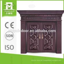 Casa de diseño moderno entrada puerta doble seguridad puerta