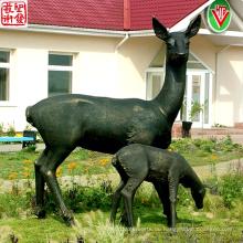 2016 Neue Bronze Figur Tiere Skulptur Bronze Porträt Skulptur China Lieferant