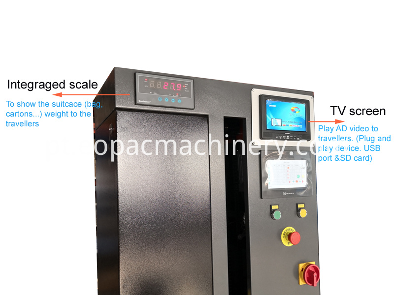 Airport Luggage Wrapping Packing Machine