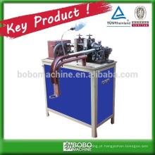 Máquina de fabricação de condutas flexíveis de aço inoxidável