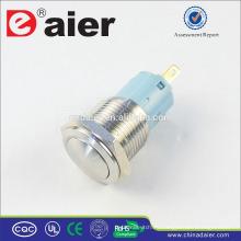 Daier LAS3-16B-11 3 pines Interruptor de botón de 220 voltios a prueba de agua