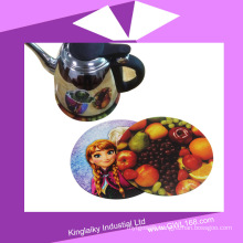 Heat Transfer Silicone Coaster for Corporate Gift P016-016