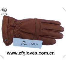 Winter warme Hirschleder Note Leder Handschuhe mit Kaschmir Futter