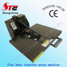 Certificado do CE 40 * 60cm liso T camisa calor imprensa máquinas Manual máquina t-shirt calor impressão máquina da transferência térmica