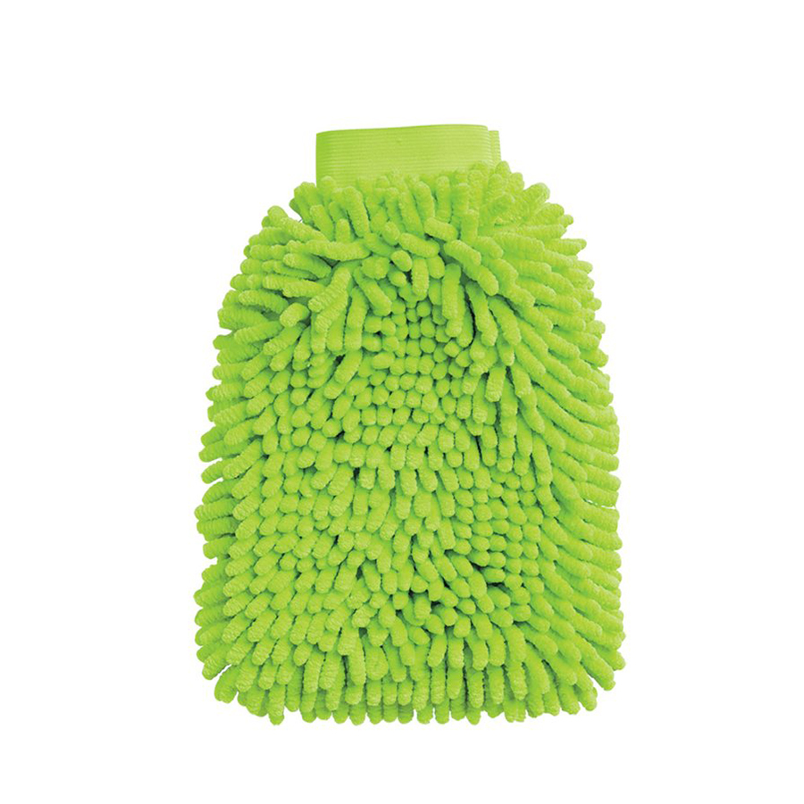 microfiber car wash mitt
