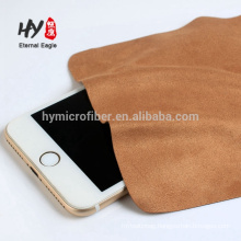 Custom microfiber 20%nylon +80%polyester glasses cleaning cloth