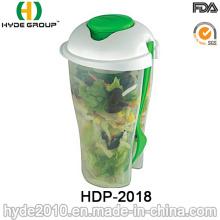 Salada para Go Cup com Recipiente de Molho e Garfo (HDP-2018)