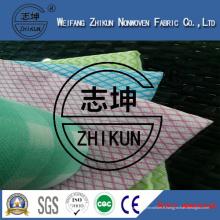 Tissu non-tissé de Viscose Spunlace de 70% au sujet du ménage de famille