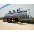 18000L 20MT H2SO4 Transport Trailers