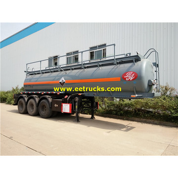 Remorques de transport 18000L 20MT H2SO4