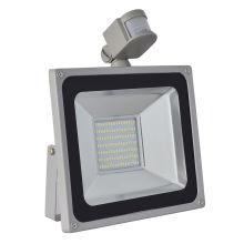 Venta caliente 100 W PIR Sensor de Movimiento SMD LED Floodlight al aire libre luz de inundación a prueba de agua