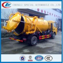 con Italia Vacuum Pump Vacío Sewage Suction Truck