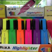 6 Colors Highlighter Pen, Fluorescent Pen