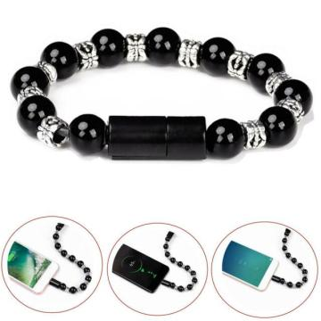 Data Sync Ladekabel Bead Bracelet Charger