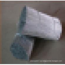 Electro galvanizado bajo carbono recto corte de alambre