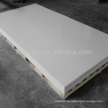 4x8 Glänzendes weißes PVC-Blatt