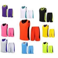 Professional Custom Cheap Reversible Basketball Uniforms