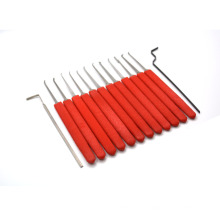 locksmith tools for locksmith lockpicking set with red silicone case locksmith tools YS500065