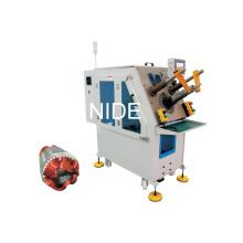 Machine monophasée monophasée de bobine stator et d'insertion de cale
