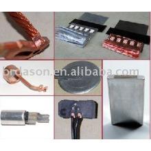 Máquina de soldadura ultra-sônica do metal para as folhas de alumínio e de cobre