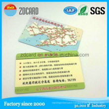 Customized Printed Plastic PVC Greeting Card Gift Membership Card