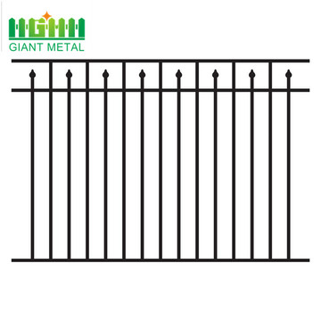 Fence+manufacturers+hot+sale+black+wrought+iron+fence